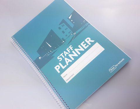 A4 Staff Planner